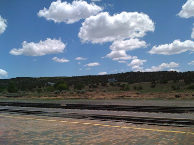Clouds in Lamy, New Mexico