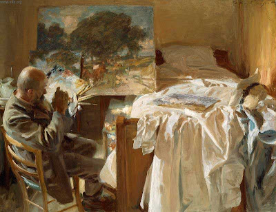 John Singer Sargent - An Artist in His Studio