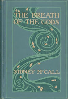 Amy M. Sacker book cover for The Breath of the Gods, McCall
