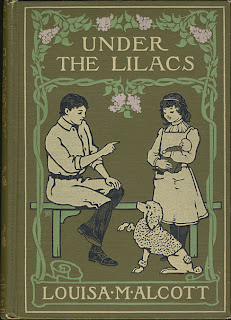 Amy M. Sacker book cover for Under the Lilacs, Alcott