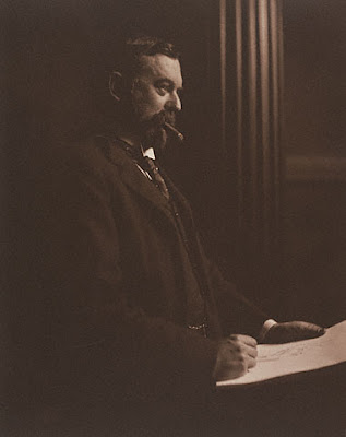 Photograph of John Singer Sargent by Sarah Choate Sears