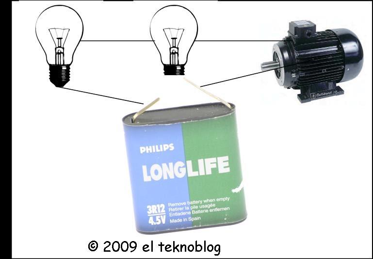 Circuito Yes : El tekno conexión en serie de receptores