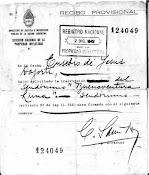 "1942, Eusebio Dojorti registra su seudónimo: ""Buenaventura Luna"""