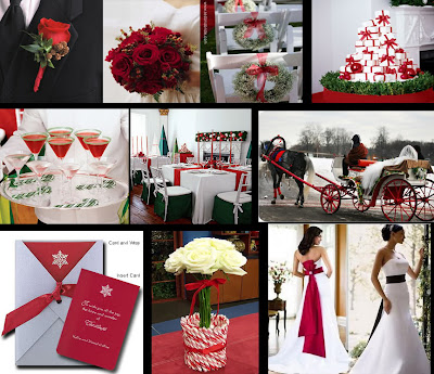 So why not use candy canes as your wedding inspiration