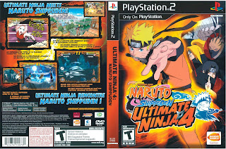 Download - Naruto Shippuden: Ultimate Ninja 4 | PS2