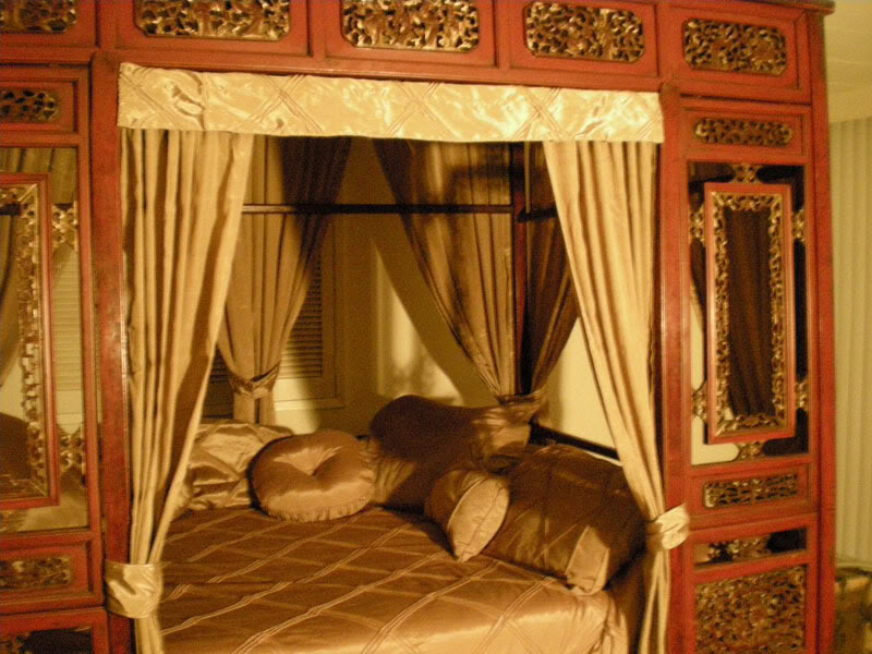 Preparing for romantic wedding romantic wedding bed for Asian wedding bed decoration ideas
