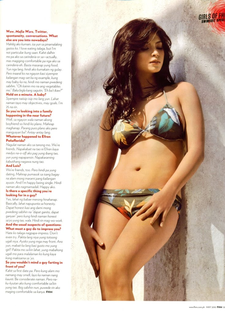 Angel Locsin Complete Scanned Photo's Fhm May 2010