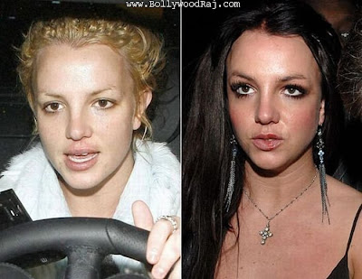 heroines without makeup. Hollywood actress without