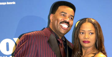 No Standing Ovation For Steve Harvey's Ex Wife