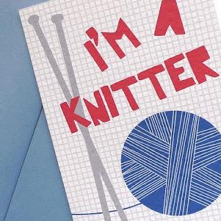 I'm a knitter card