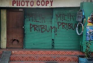 milik pribumi, The Jakarta 13 May 1998 riots
