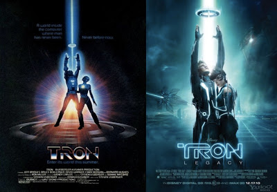 tron 1982, tron legacy movie poster