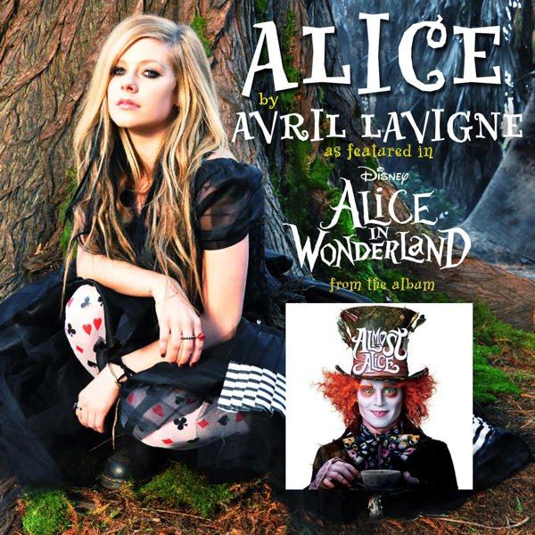 """Una de ellas es Avril Lavigne, que cante el tema """"Alice"""" y con el que ha"""