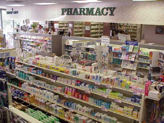 Pharmacy of course you can