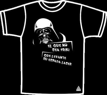 Frikiii Teestt!!! Darth_vader_friki_camiseta