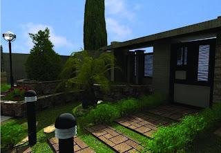 garden yard design minimalis modern