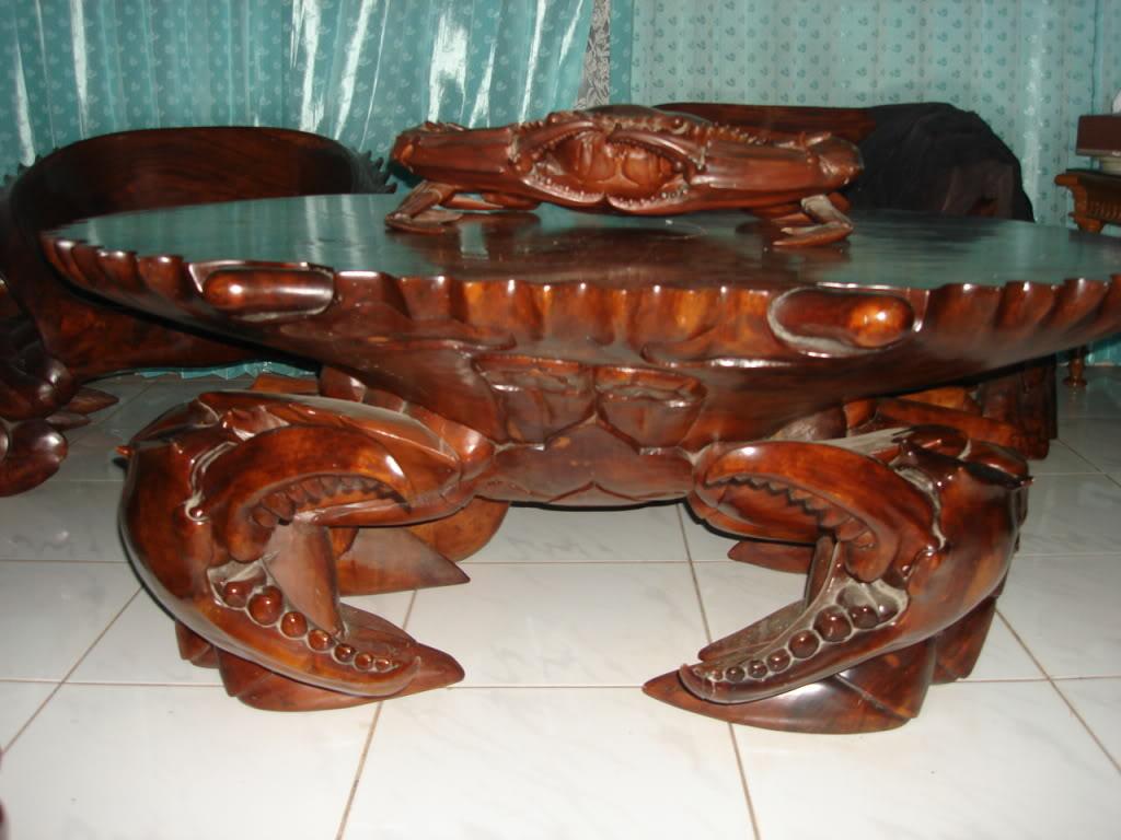 Minimalist Home Dezine: Woodcraft Crab Design - Modern Home Minimalist
