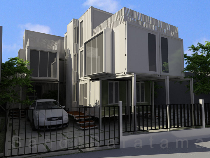 3d house design minimalis a1 modern home minimalist for Minimalist house 3d