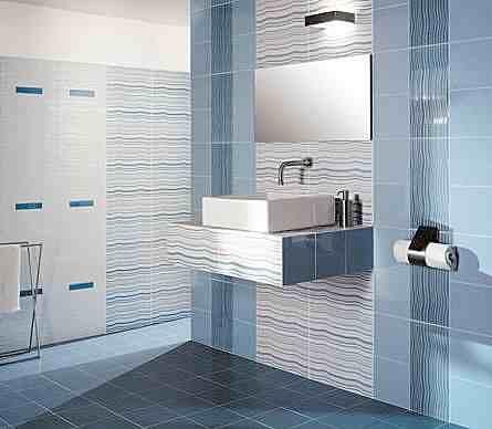 Luxury Bathroom Tile Design Idea