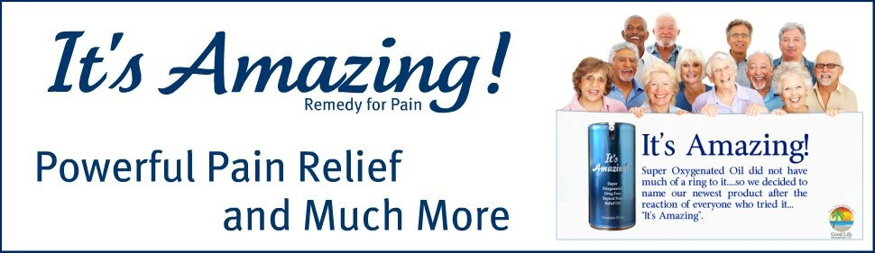 """It's Amazing"" Oxygenated Oil for Effective Pain Pain Relief from Arthritis"