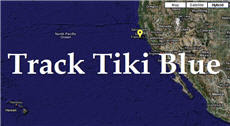 Track Tiki Blue to Hawaii