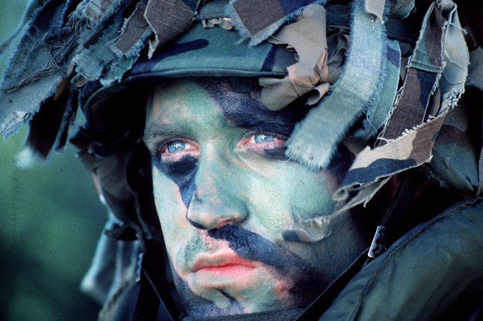 Portrait of U.S. Army Soldier, Panama 1989