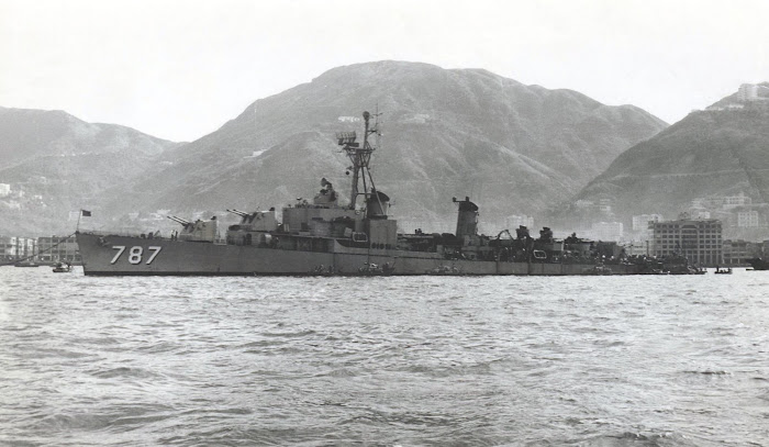 DD 787  USS James E Kyes
