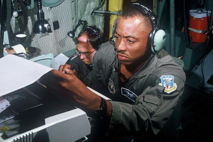MSgt Robert Petty, Hurricane Hunter