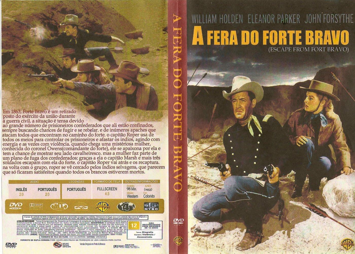 Capas De Fimes De Faroeste A Fera Do Forte Bravo