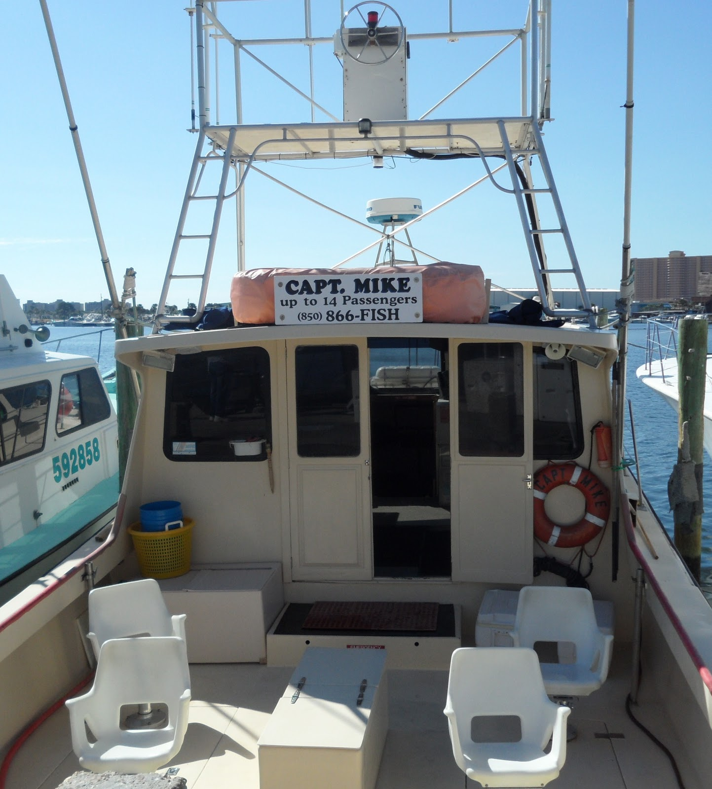R and r travels charter fishing panama city florida for Panama city fishing charters