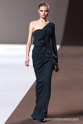 elie saab pret a porter osen zima 2010 33 Вечірні сукні (фото). Вечірні плаття від знаменитих Будинків Мод
