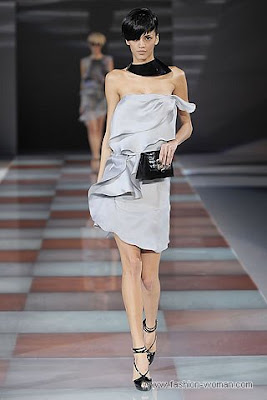 emporio armani osen zima 2010 2011 Вечірні сукні (фото). Вечірні плаття від знаменитих Будинків Мод