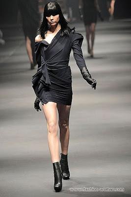 lanvin osen zima 2010 2011 1 Вечірні сукні (фото). Вечірні плаття від знаменитих Будинків Мод