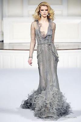 oscar de la renta osen zima 2010 2011 4 Вечірні сукні (фото). Вечірні плаття від знаменитих Будинків Мод