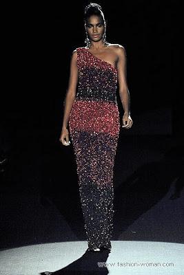 badgley mischka osen zima 2010 2011 4 Вечірні сукні (фото). Вечірні плаття від знаменитих Будинків Мод