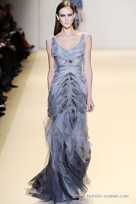 carolina herrera osen zima 2010 2011 8 Вечірні сукні (фото). Вечірні плаття від знаменитих Будинків Мод