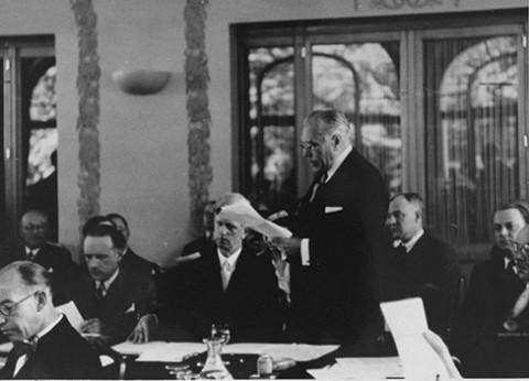 6 juillet 1938 Conférence d'Évian