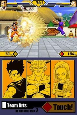 Dragon Ball Z para GBA XO