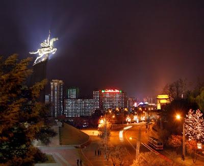 Pyongyang de noche 03