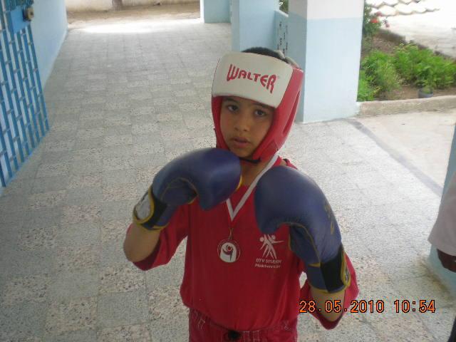 Notre petit champion!