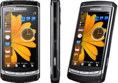 Samsung Omnia HD Front & Side