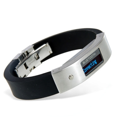 Bluetooth Bracelet with Vibration and LCD Display Right Side