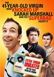 Filme The 41 Year Old Virgin Who Knocked Up Sarah Marshall and Felt Superbad About It DVDRip RMVB Legendado