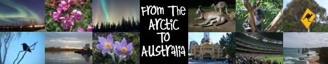 From the Arctic to Australia