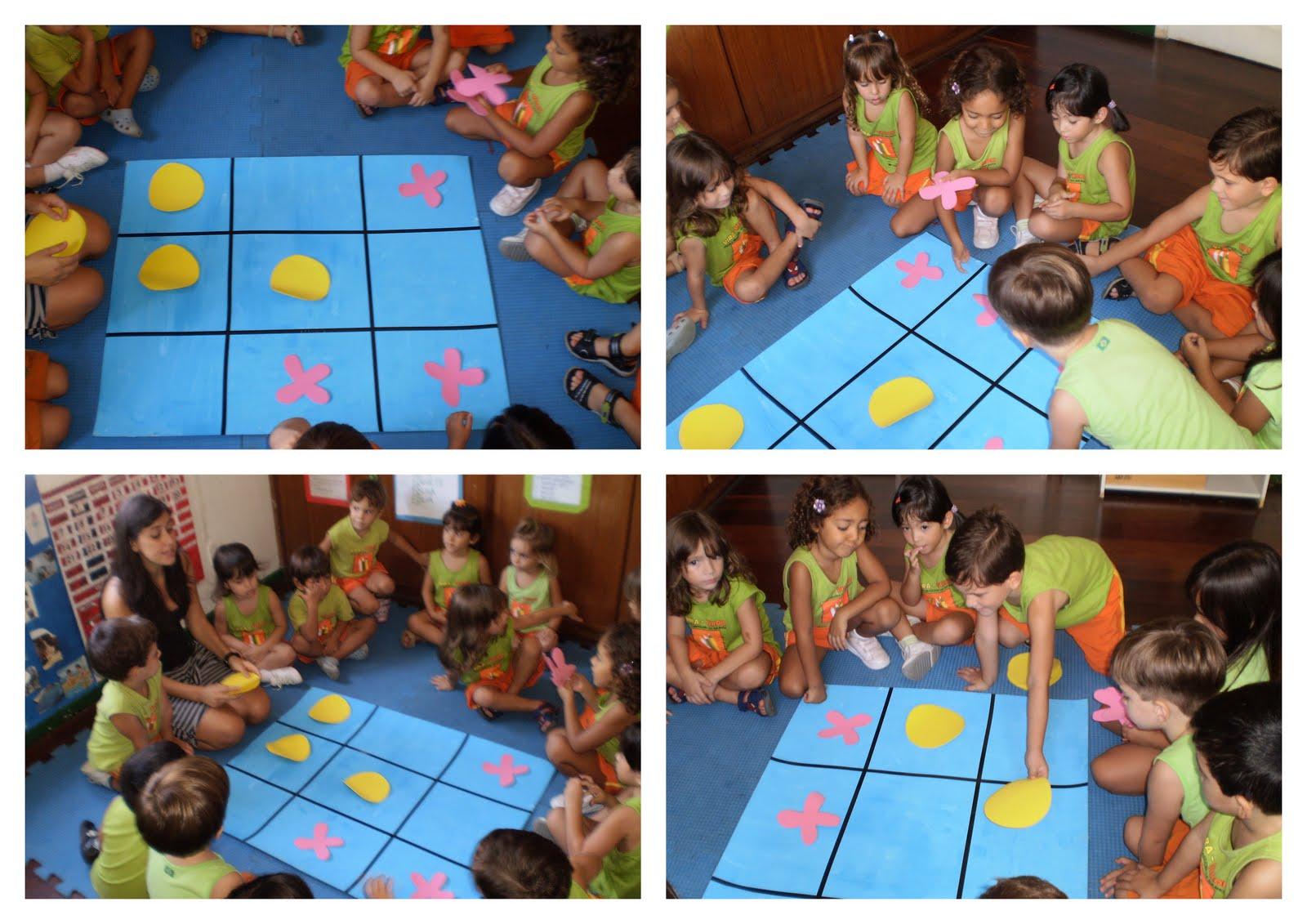 Populares Vira-Virou Escola Brasileira da Infância: Matemática com Jogo da Velha PP51