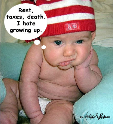Adorable baby photos and funny baby quotes · Newborn Baby