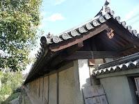 方広寺大仏殿の外塀、豊臣家の桐の家紋