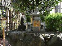 天野屋利兵衛の墓