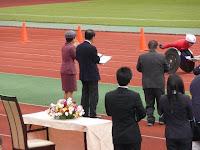 宮様が京都の選手にエール