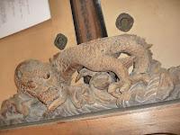 大仏殿の欄間にあった左甚五郎の龍
